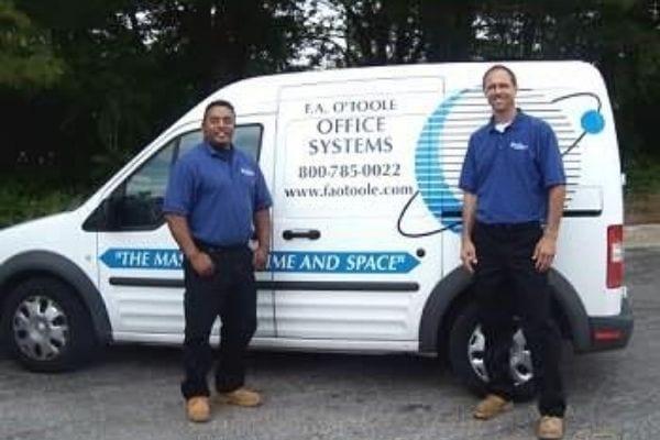 Services maintenance crew