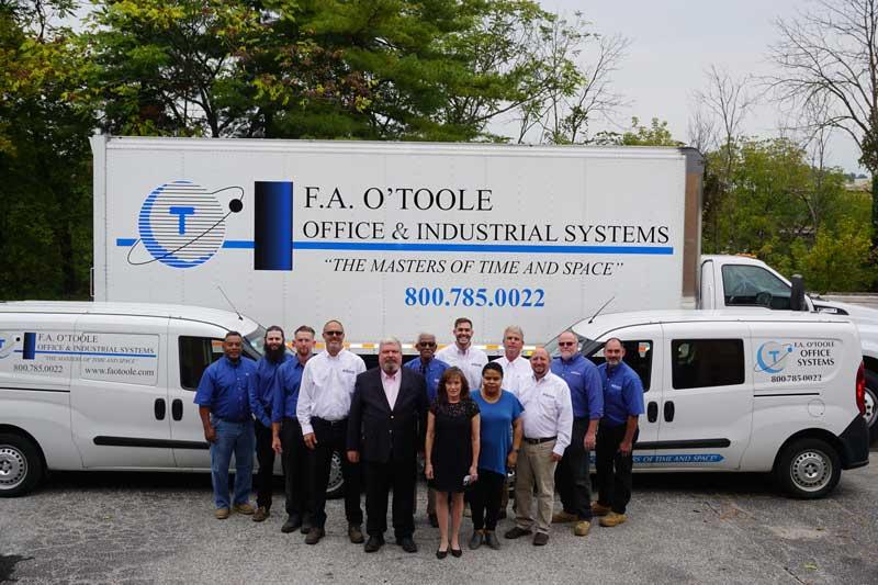 FA O'Toole Company Photo