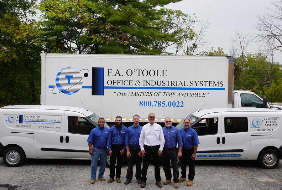 FA O'Toole services team